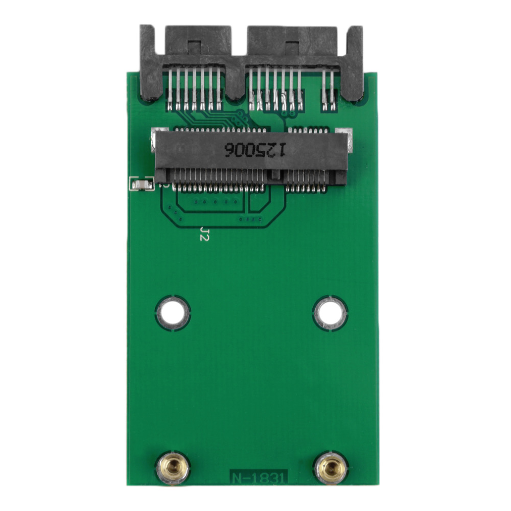 1.8 inch Green High Capacity High Power Serial mSATA to SATA Adapter(China (Mainland))