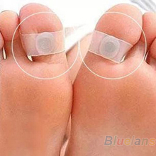 1 Pair Silicone Magnetic Foot Massage Toe Ring Durable Keep Fit Slimming Health Tool 01W4 2WN2