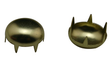 Wholesale 200 Pcs Golden 15 mm Cup Mushroom Shape Rivet With Claws Clinch For Handbag Clothes Accessories Fashion Design(China (Mainland))