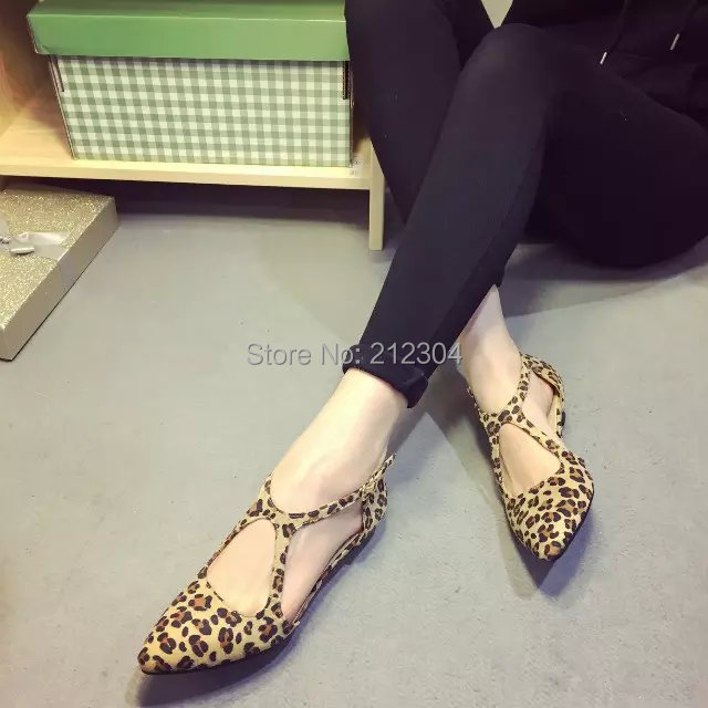 Free shipping  comfortable flat shoes  Ballet Flats shoes large size shoes Women flats   -703-33<br><br>Aliexpress