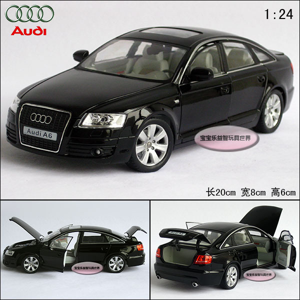 Free shipping AUDI a4 a6 exquisite alloy car model(China (Mainland))