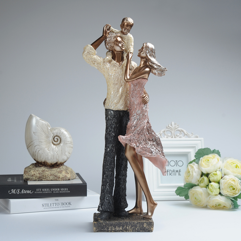 Resin figures ornaments crafts home decorations room for Bedroom ornaments