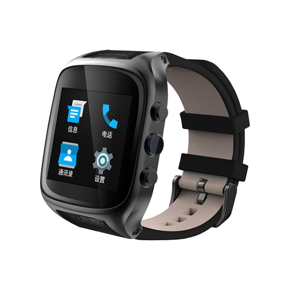 Ourtime Android 5.1 Bluetooth 4.0 IP67 Smart Watch 1G RAM 8G ROM 2.0MP Cam SIM 3G GPS WiFi Heart Rate Pedometer 600mAh Battery(China (Mainland))