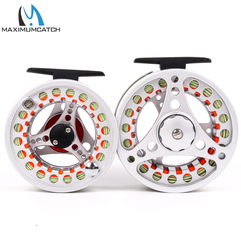 High Quality Aluminum Fly Fishing Reel With Line Combo(China (Mainland))