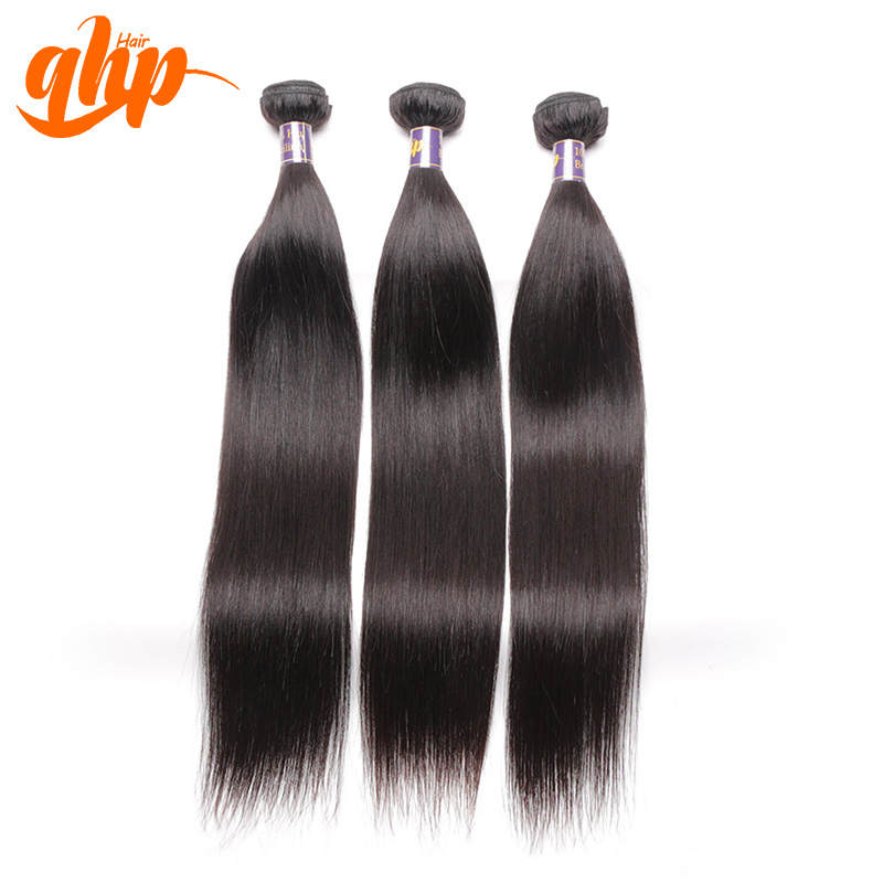 Virgin brazilian straight hair weave bundles 3 pcs lot, Natural black 6A Unprocessed brazilian virgin hair straight 3 bundles<br><br>Aliexpress