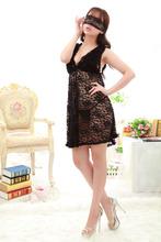 Free shipping, New 2014 Women's lingerie lace temptation Big yards of sexy underwear sleepwear nightgown