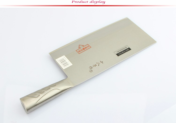 Buy High Quality Stainless Steel Chinese Chopping Knife Frozen Meat Cleaver Kitchen Chef Cooking Knife Faca De Cozinha Kitchen Tools cheap