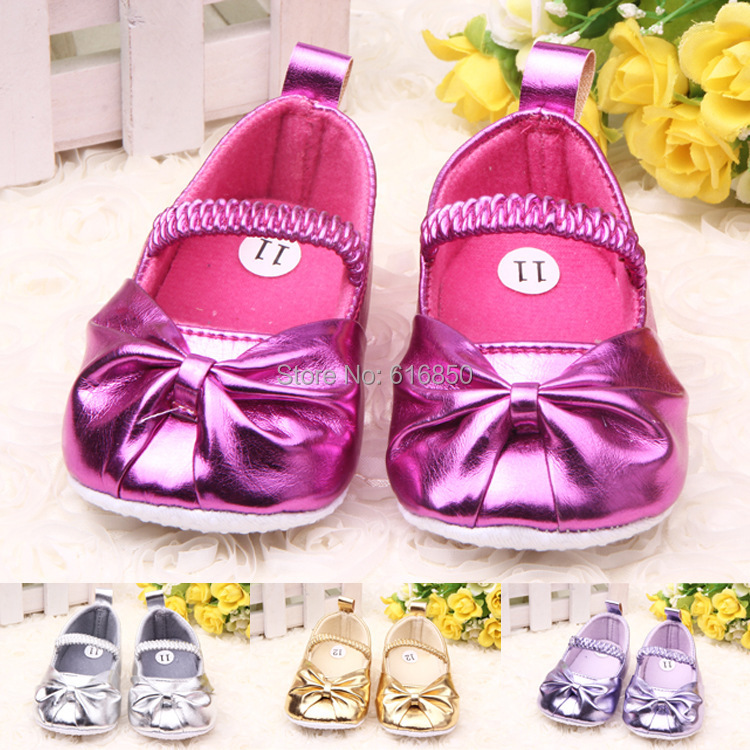Fashion Baby Girl Shoes Toddler First Walkers Soft Sole Pricess Non-slip Infant Prewalker Newborn 0161 - Lolly Shop store