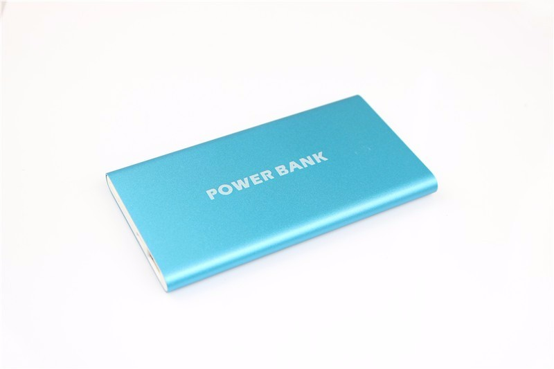 2016 Ultra Slim Portable Power Bank 8000mAh Polymer Powerbank Mobile Charger External Battery Chargers 8000 mah Backup Battery