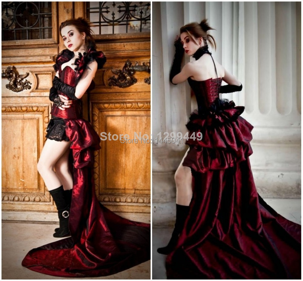 Gothic Homecoming Dresses