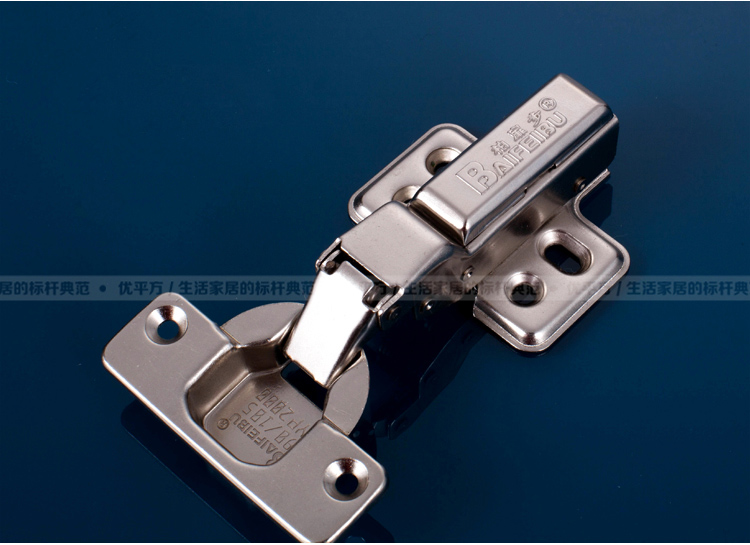 Stainless steel hydraulic cushioning spring hinge (copper core) Furniture Hardware aircraft pipe damping hinge cabinet door(China (Mainland))