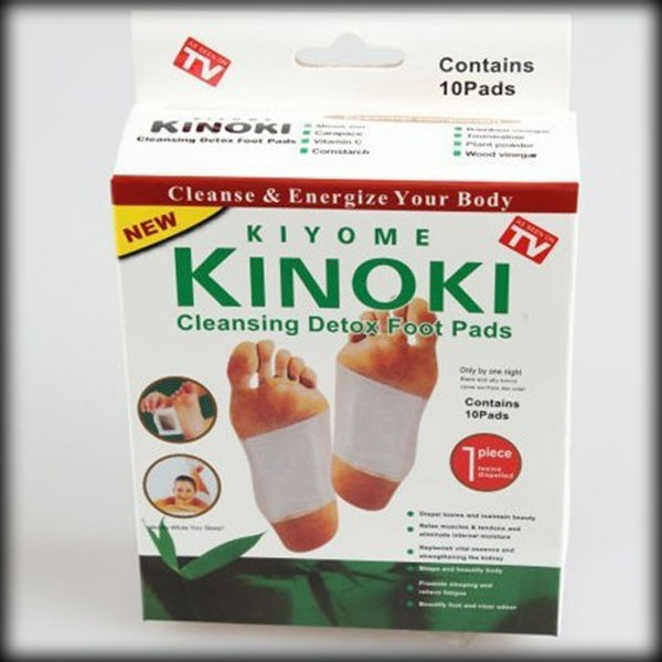 50% shipping fee 100 Boxes Cleansing Detox Foot Patches Kinoki Pads /Cleanse & Energize Your Body(China (Mainland))