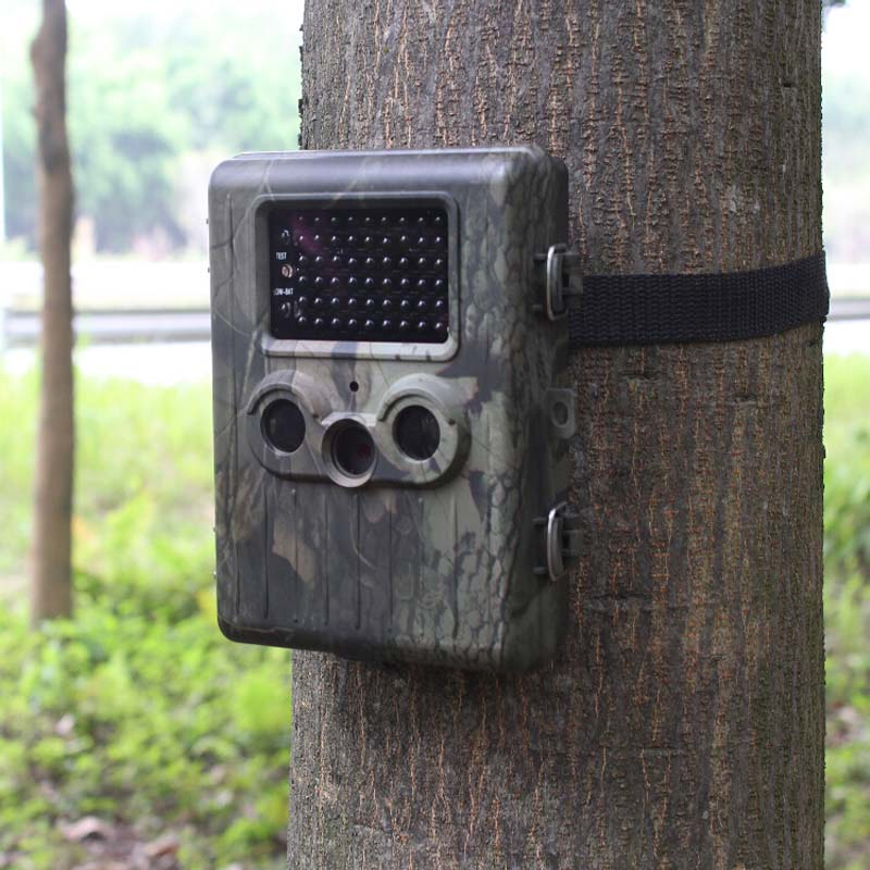 Suntek HT002LIM Hunting Camera GSM GPRS MMS SMTP/SMS 12MP Scouting Trail Camera With Lion Battery(China (Mainland))