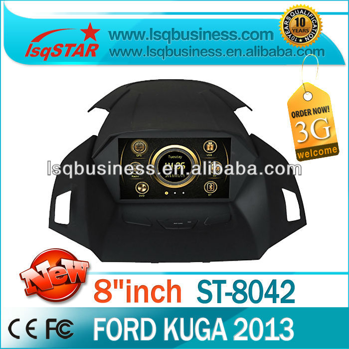 """8"""" Navigation system for Ford kuga 2013 with FM AM bluetooth 6CDC canbus steer wheel 3g free shipping(China (Mainland))"""