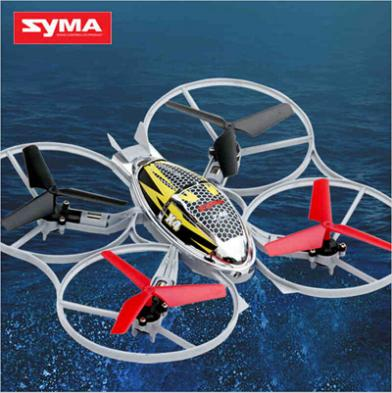Free Shipping Syma X4 4CH 2.4Ghz 6AXIS Throw Flight RC Helicopter Remote Control Quad Copter Toys CHEAPEST SYMA X5C STOCK(China (Mainland))
