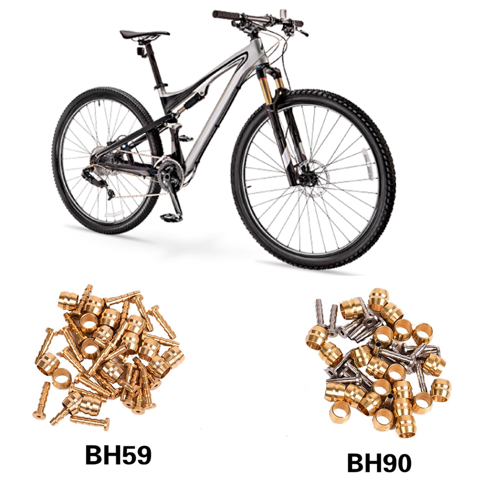 10Pairs//lot BH59 Bicycle Brake hose Hydraulic disc brake Olive Connect ES