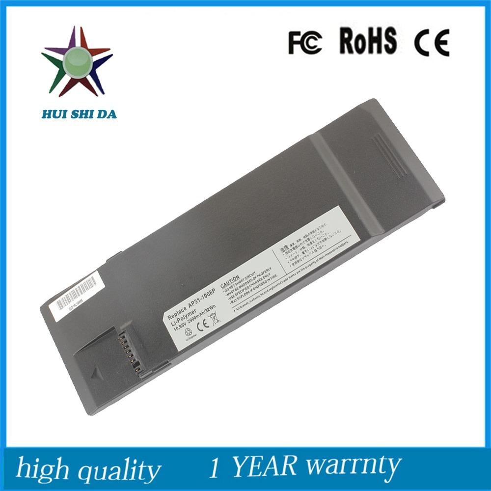 10.95v 31Wh  New Original  Laptop Battery for ASUS  Eee PC AP32-1008P AP31-1008P<br><br>Aliexpress