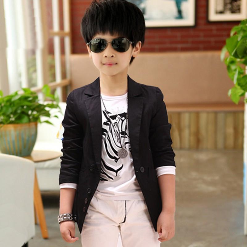 New Autumn Spring Fashion Casual Baby Boy Blazer Jacket Single Breasted Kids Blazers Jackets Cotton Jackets For Boys F003(China (Mainland))