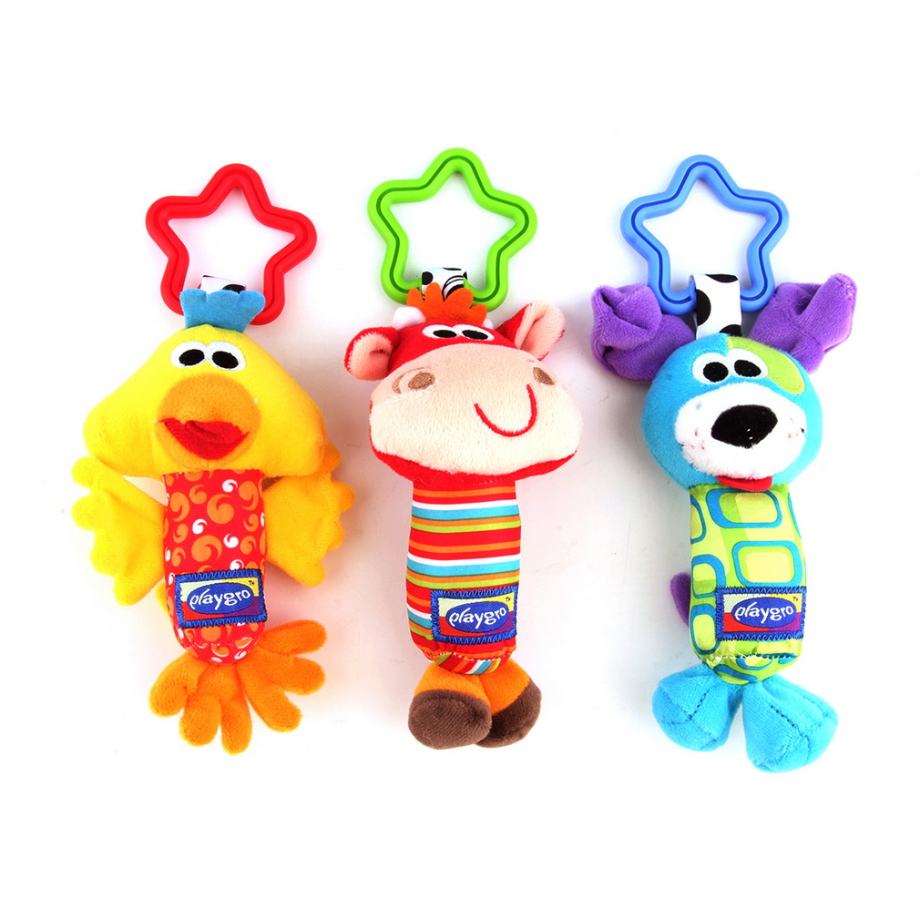 Baby Toy Soft Crib Bed Hanging Toy Plush vibration Toy Rattle Teether newborn baby Gift Multifunction Educational Doll Kids Toy(China (Mainland))
