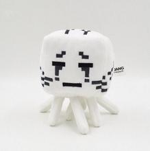 2016 New Minecraft Plush Toys Enderman Ocelot Pig Sheep Bat Mooshroom Squid Spider Wolf Animal soft stuffed dolls kids toy gift(China (Mainland))