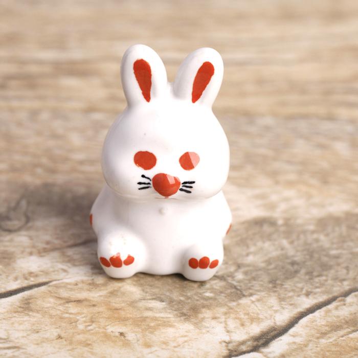 Leuke konijn handgeschilderde keramische keukenkastje kabinet deurknop kamer kind garderobe lade - Kamer originele kind ...