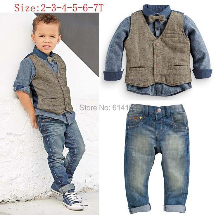 Denim Outfit For Kids