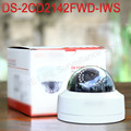 In stock DS 2CD2142FWD IWS English version mini wifi dome cctv network camera 4MP P2P ezviz