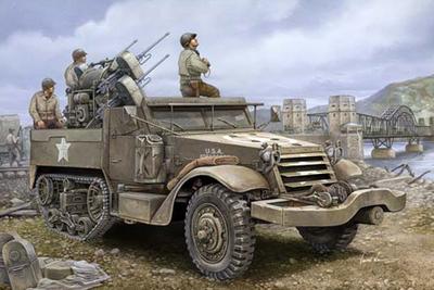 Trumpeter Model Kit 1/16 M16 Multiple-Gun Motor Carriage Armored 00911 US(China (Mainland))