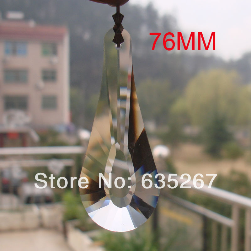 8pcs/lot ,Free shipping,76mm cloud star crystal chandelier pendant with one hole,crystal chandelier pendant for wedding pendant<br><br>Aliexpress
