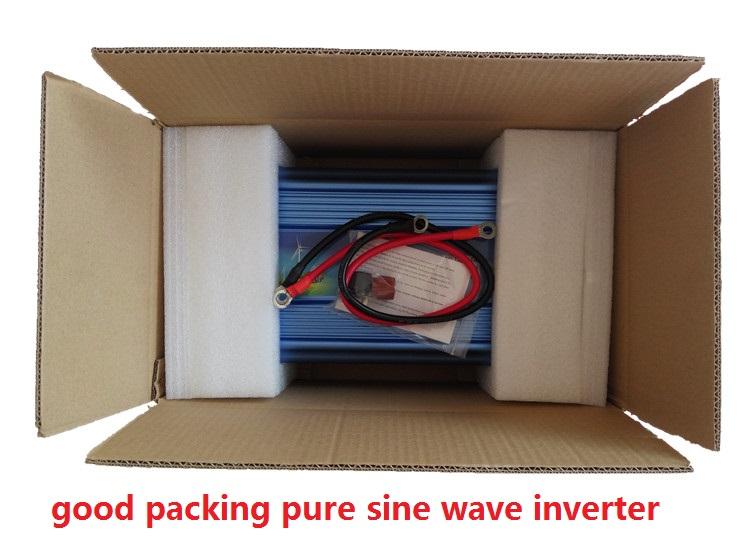 DHL FEDEX UPS express 2000W Pure Sine Wave Inverter DC to AC 4000 Watt Peak Power, Off Grid Wind Solar System Inverter(China (Mainland))