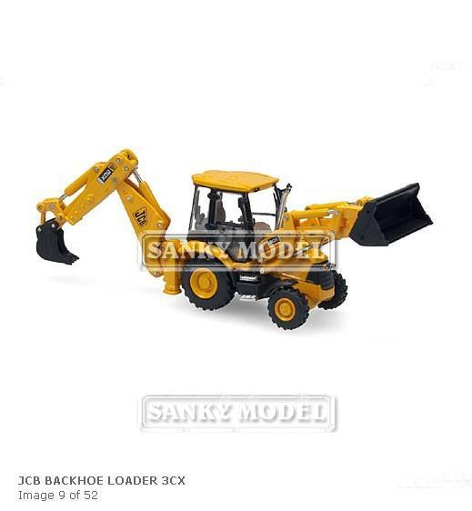 MOTORART 1:87 JCB Backhoe loader 3CX excavator loading a predetermined(China (Mainland))