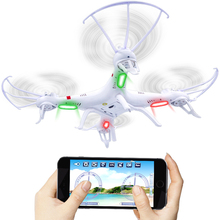 HQ898B 2.4G 4CH 6-Axis RC Quadcopter Drone with Wifi FPV HD Camera Smartphone Gravity Induction Control RC Helicopter