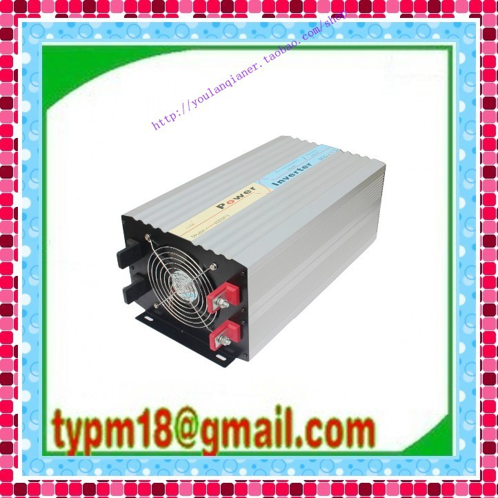 3000W inverter 12V DC 230V no grid tie inverter Solar Inverter, Single Phase, pure Sine Wave, Free shipping!