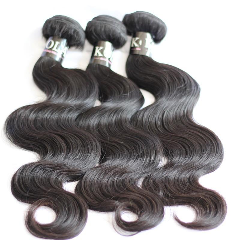 10A Peruvian Virgin Hair Body Wave Human Hair Weave 3 Bundles Unprocessed Virgin Peruvian Hair KOLA Hair Co Peruvian Body Wave
