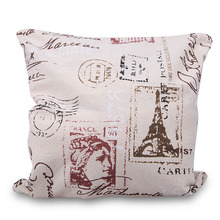 BS#S Simple Fashion Linen Throw Pillow Case Home Car Decor Cushion Cover Square High Quality Free Shipping
