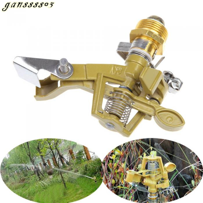 """High Quality 6"""" Zinc Alloy Impact Sprinkler Garden Lawn Watering Irrigation Spray Head Convenient Durable Fashion(China (Mainland))"""