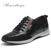 Hot Full Grain Genuine Leather Men Shoes Casual Comfortable walking Weight Breathable Daily Wearing Lace up shoe Free shipping