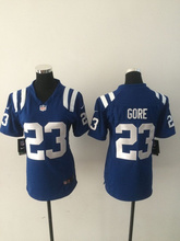 A+++ all stitched Women Lady #12 Andrew Luck,T.Y. Hilton,Andre Johnson,Pat McAfee,Coby Fleener,Frank Gore(China (Mainland))