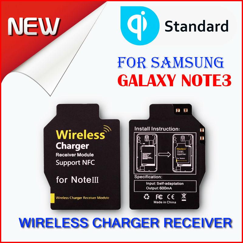 Miii New Wireless Charger receiver QI standard Samsung Galaxy Note III - HONG KONG MI(INTERNATIONAL store TECHNOLOGY CO., LIMITED)