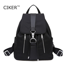 CIKER New Brand 2016 Women Backpack Waterproof Nylon Lady Women's Backpacks Female Casual Sport Travel bag Bags mochila feminina