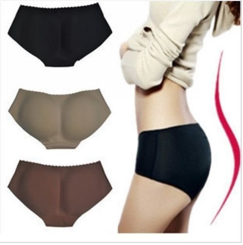 Free Shipping  seamless Bottoms Up underwear(bottom pad panty,sexy lingerie,buttock up panty,Body Shaping Underwear/ UD-012