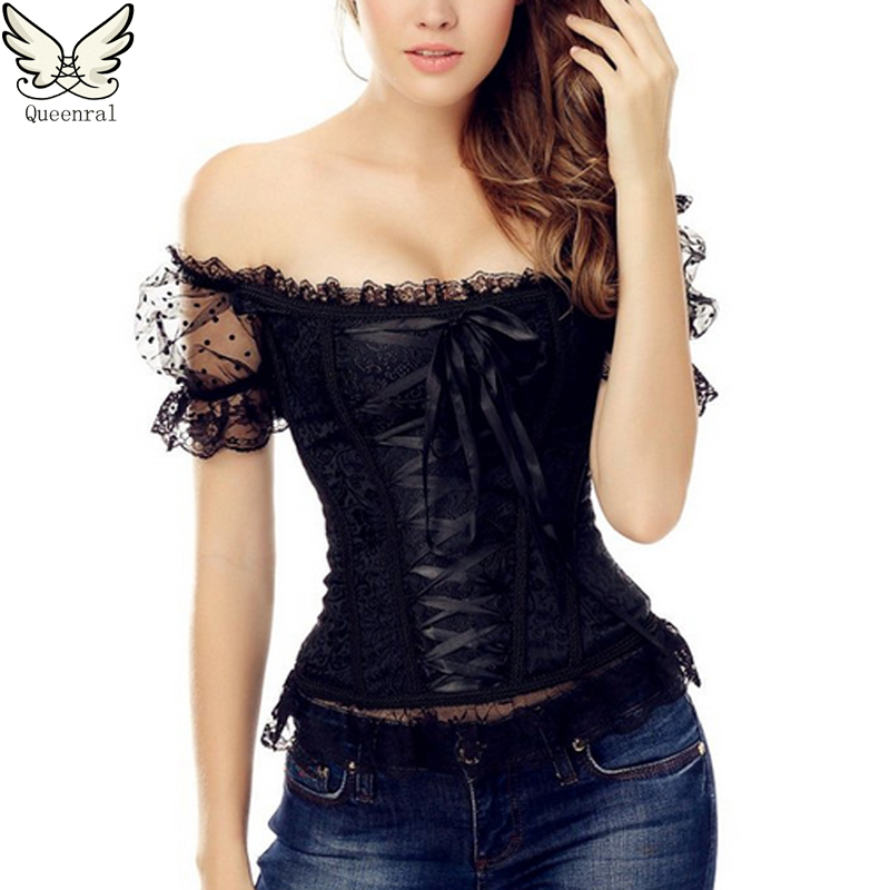 corset bustiers waist training corsets Sexy Lingerie overbust steampunk corset gothic clothing corpete corselet  waist trainerОдежда и ак�е��уары<br><br><br>Aliexpress