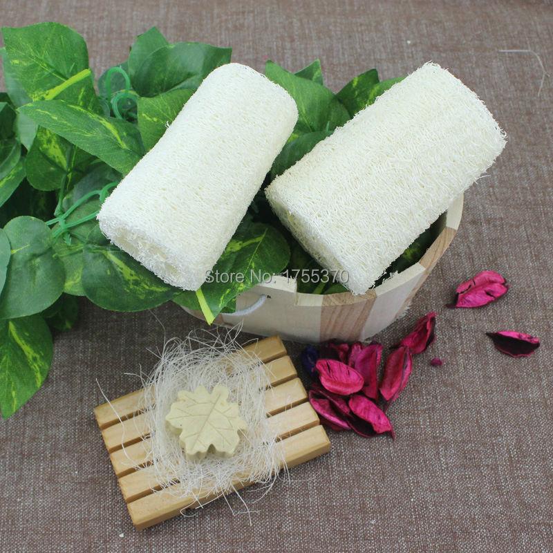 Natural Loofah Luffa Bath Shower Sponge Spa Body Scrubber Horniness Remover Bathing Massage Sponge For Women