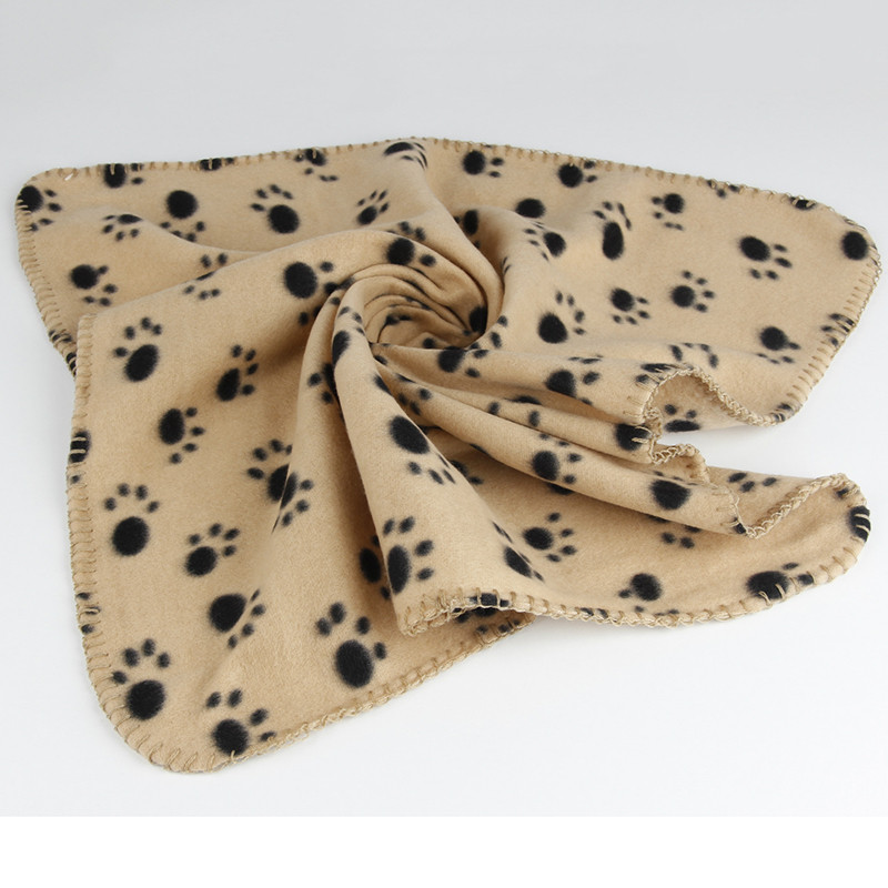 40-x-60cm-Dog-Towel-Cute-Floral-Pet-Warm-Paw-Print-Dog-Puppy-Cotton-Soft-Blanket (2)