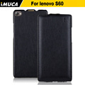 lenovo S660 case 100% original leather case for lenovo S660 Vertical Flip Cover Mobile Phone Bags & Cases Accessories