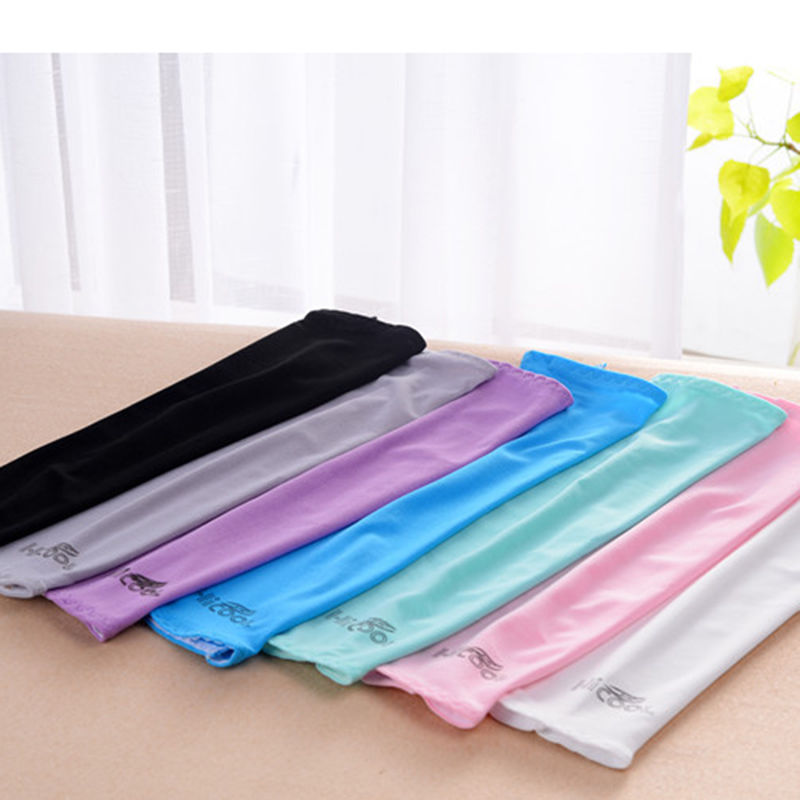 Sun Protection Oversleeve Warmers Cycle Bikes Driving Golf UV Arm Sleeves Cover