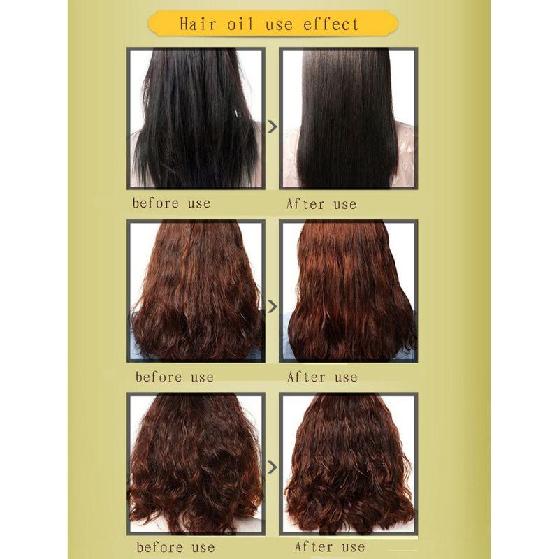 60ml Brand New Multi-functional Hair Care Moroccan Pure Argan Essential Oils Hair Conditioner Dry Hair Repair Hot