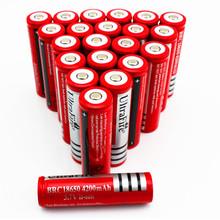 1 Pcs 3.7 V 9800mAh Battery lithium Li Ion Rechargeable Large Capacity Battery Flashlight t New Hot Power Large free shipping