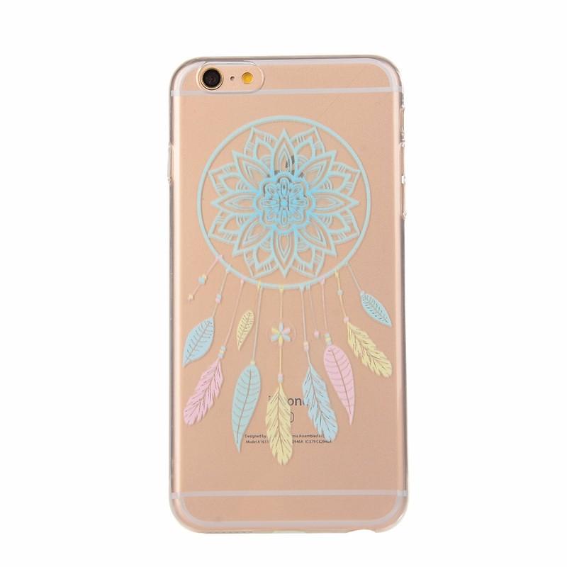 Unique Phone Case TPU Skin for Apple iPhone 5 5S 6 6S 6Plus 6S Plus Soft Silicon Cover Transparent Cat Lemon Thin Gel Cases