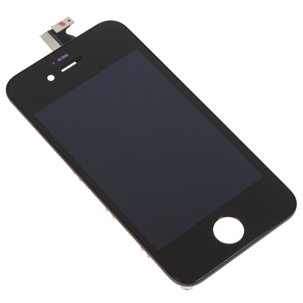 20 PCS HOT Super LCD Screen Replacement Digitizer Glass Assembly for iPhone 4S - 2 Colors Optional(China (Mainland))